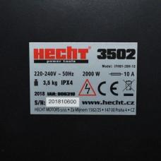 Hecht 3502 Elektrische kachel met ventilator en thermostaat