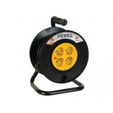 Kabelhaspel 25m - 3G1.5 - 4 STOPCONTACTEN