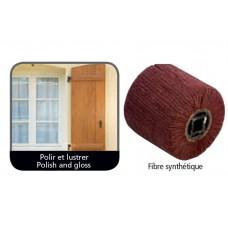 Synthetische vezel borstel voor renovator
