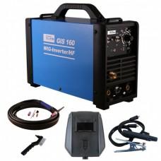 Güde GIS 160 TIG / HF Inverter lasapparaat