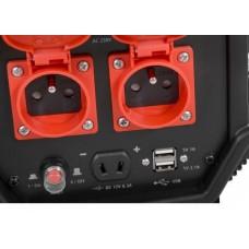 Hecht IG 3600 Inverter - aggregaat met 4-takt motor