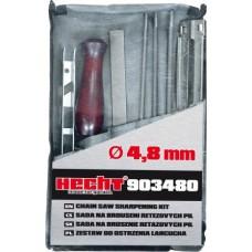 Hecht 903480 ,manuele kettingvijlset 4.8 mm