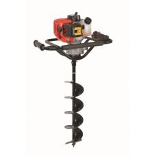 Hecht 52 grondboormachine BENZINE 2.4 PK + grondboor 150 mm