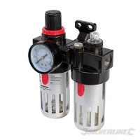 Luchtfilter drukregelaar en olievernevelaar