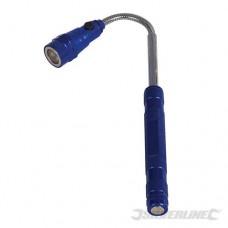 Uitschuifbare magnetische LED lamp