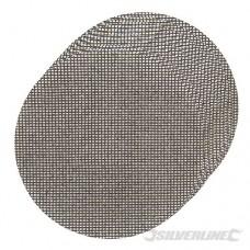 Klittenband gaas schuurschijven, 225 mm, 10 pk K120