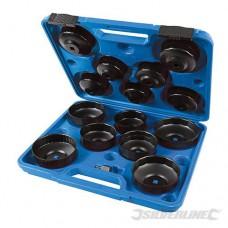 15-delige oliefilter sleutel set 65-93 mm